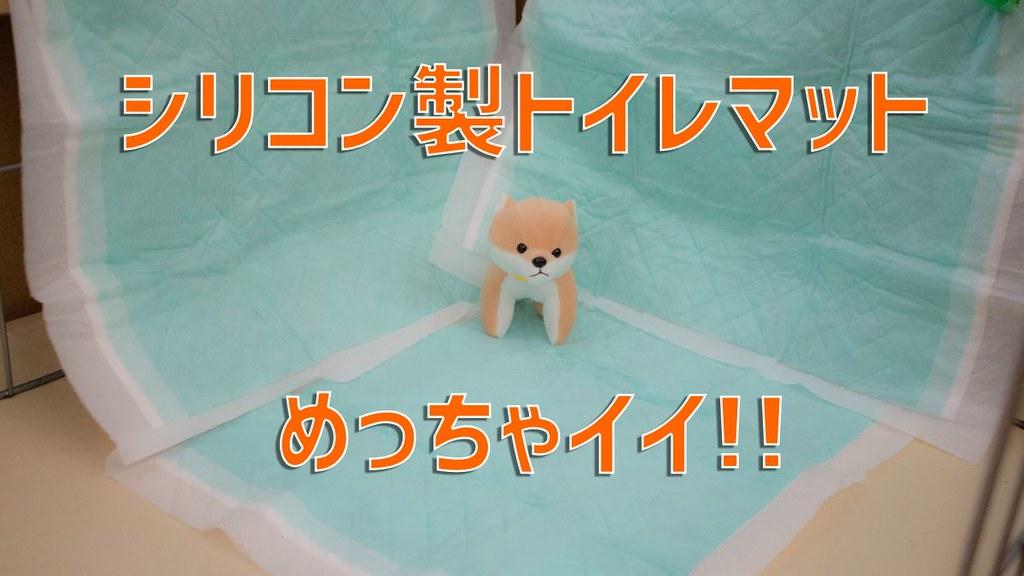 ペット用シリコン製トイレマットの購入後レビュー